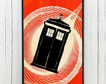 TARDIS DOCTOR WHO Phone case for iPhone and Galaxy