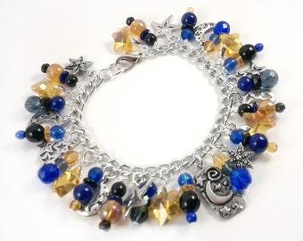 Starry Night Charm Bracelet