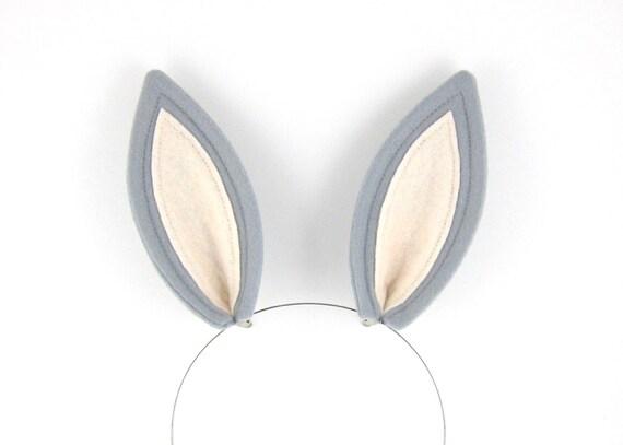 Bunny Tail Hair Bunny Ears Costume Hair Clips