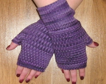 Fingerless gloves merino wool
