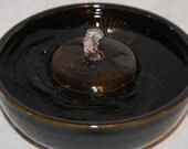 "Cat Fountain - Pet Fountain - Indoor Fountain - 8.75 Inch Diameter ""Night Pool II"""