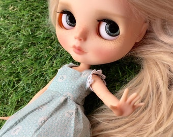 Blythe Dress : Dreamy Blue Dress