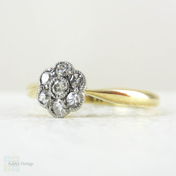 edwardian engagement ring sparkly by