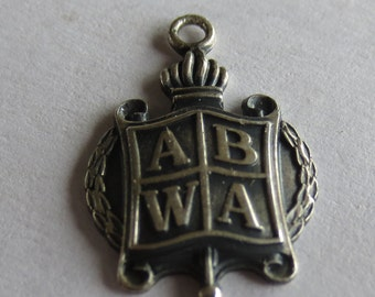 ABWA Sterling Silver Charm or Pendant American-Business-Womens-Association