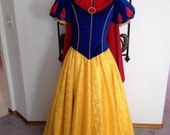 Custom Parks Snow White Set Womens 2 4 6 8 10
