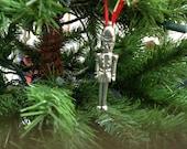 Pewter Nutcracker Ornament