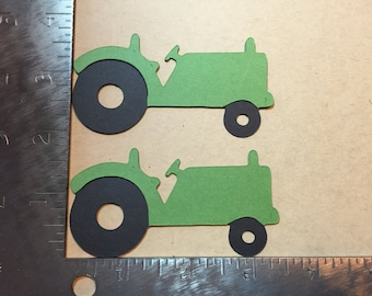 Two tractor die cuts - pick your color