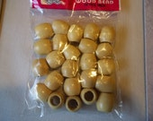 Hair Wood Beads, Tube Wood Beads, Barrel Wood Beads, Oval Wood Beads #2