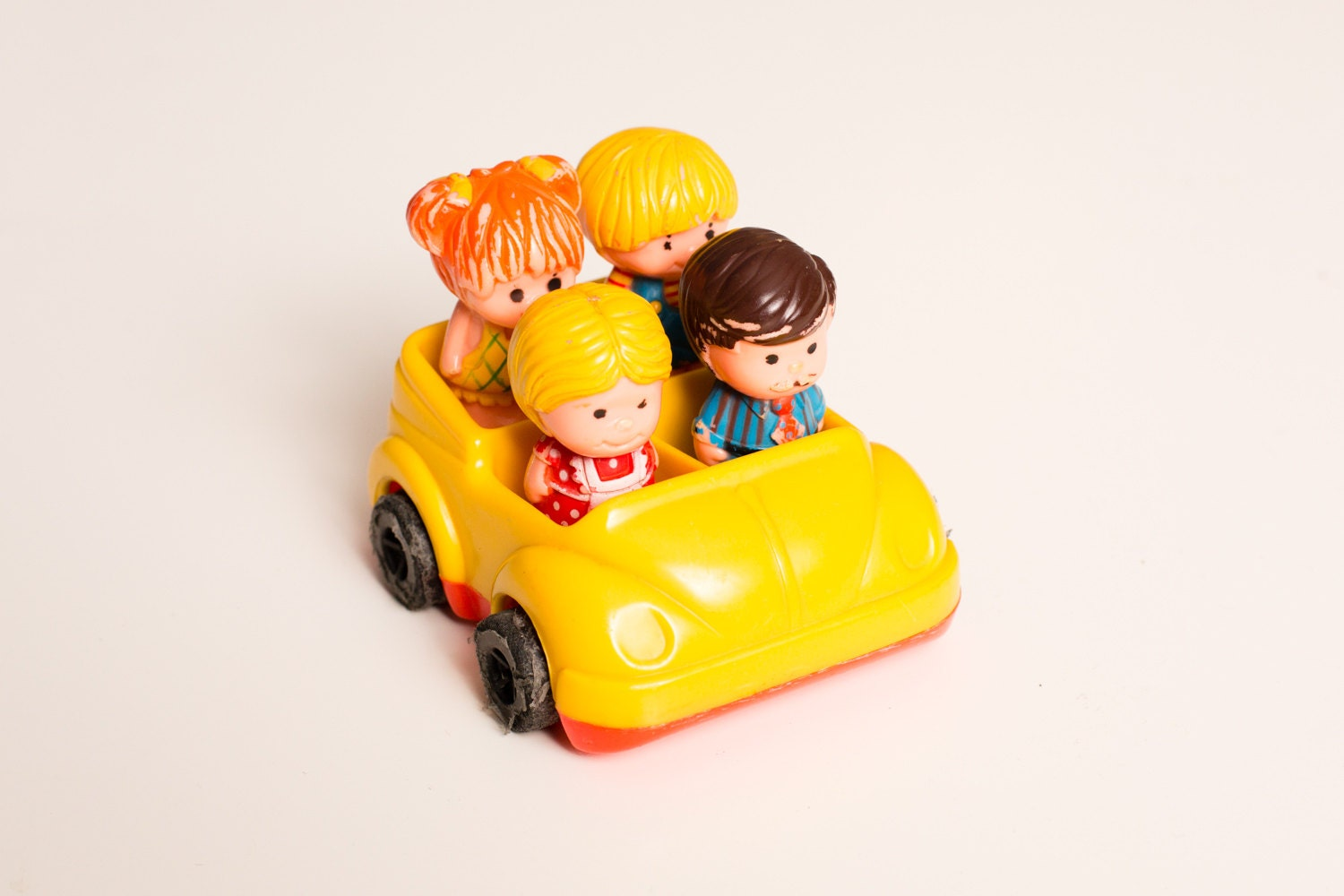 Classic Toys From The 70s : Vintage s tree tots family car toys dad tremont mom kids