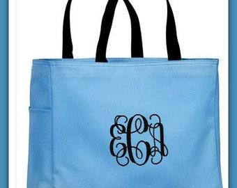Wedding Tote Bags - Monogrammed Tote Bag