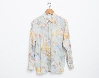 90s Nos vintage shirt boyfriend shirt