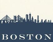 Custom Boston Papercut