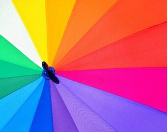 Rainbow Summer Digital Print