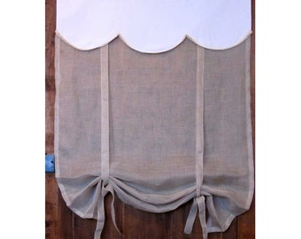 Lace Kitchen Curtains Mocha Brown Lace Brise By Linenandletters