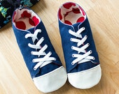 no 725 Kaley Women's Sneakers PDF Pattern