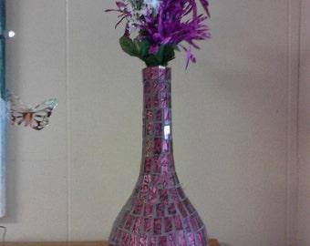 Van Gogh Mosaic Vase
