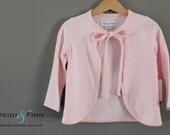 Sample SALE Sweet pink Cardi  3T  ready to ship cardigan sweater