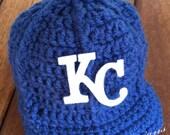 Kansas City Royals baby hat, Royals baby cap, baby baseball hat, KC Royals photo phop