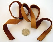 Camel Leather Strips