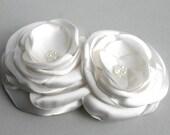 Ivory Flower Headpiece, Flower Facinator, Flower Hair Clip, Ivory Bridal Hair Accessory, Wedding Hair Piece, Flower Hair Pin, Facinate