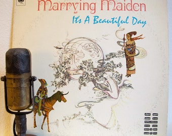 "ON SALE It's A Beautiful Day Vintage Vinyl Lp 1970s Classic Rock Psychedelic Rock Record Album Jerry Garcia guests""Marrying Maiden""(1970 Col"