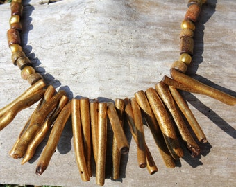 Bamboo One of a Kind Necklace
