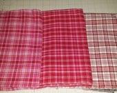 Valentine's Day Plaid Fabric Bundle