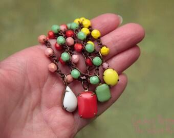 Jewelry Tutorial, Crochet Wrap Bracelet Pattern, Beaded Necklace Pattern (1)