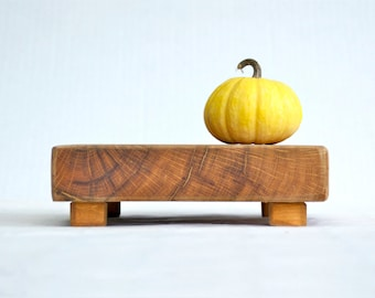 Maple Cutting Board Serving Tray Rustic Wood - Centerpieces Wedding Decorations Wooden Rounds Trivets Hot plates