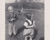 Vintage Photo - Children in Costume (AAA)