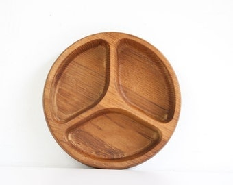 Vintage Danish Modern Dansk Teak Divided Tray
