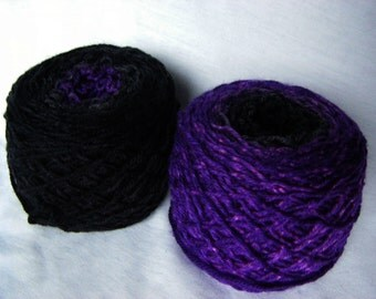 Sock Gradient - Superwash Merino Nylon Sport weight - Penelope Sport - Nearing Midnight