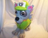 Crochet Rocky Paw Patrol
