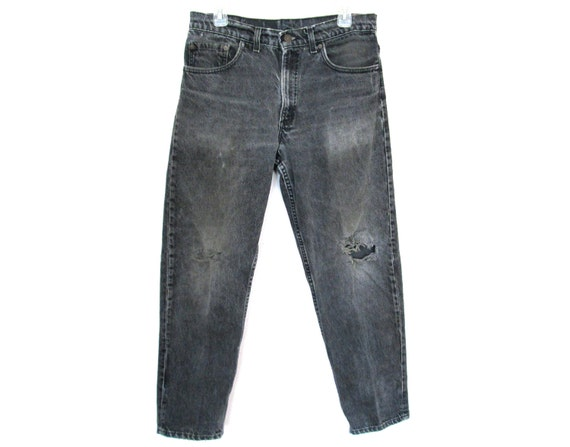 zerrissene jeans 90er super jeans in dieser saison. Black Bedroom Furniture Sets. Home Design Ideas
