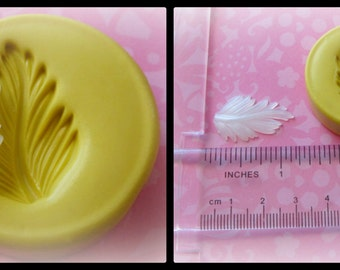 Fondant Leaf  Resin Clay Mold Kawaii Cupcake Topper Mold