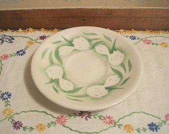 Vintage Sterling Vitrified China Restaurant Ware Saucer