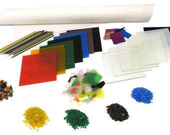 Fuseworks Glass Fusing Kit - 90 COE - Great Value