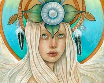 The Queen of Elphame Scottish Celtic fairy tale pagan 8x10 fine art print