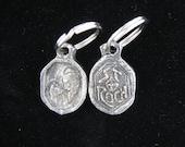 Patron Saint of Dogs & Dog Lovers: Handmade St Roch Medal