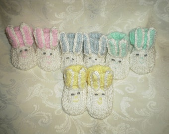 Bunnie Booties for Baby