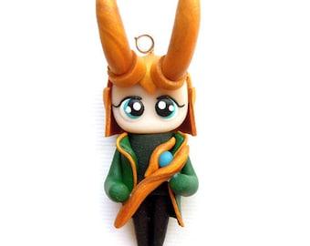 Loki - Miniature Sculpture - Charm Figurine