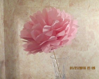 Giant Paper Flowers - Assortment of colors - Tissue Flowers - Handmade Mexican Paper Flowers