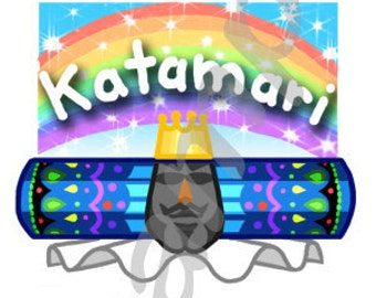 Katamari Damacy Sticker Sheet