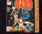 "STAR WARS 1977 MarveL Special Ed Comic Large Comic Book  10 1/8"" x 13 1/4"""