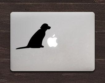 Labrador Vinyl MacBook Decal BAS-0132