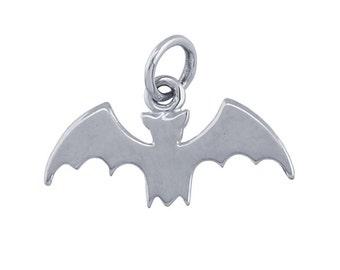 Sterling Silver Bat Charm