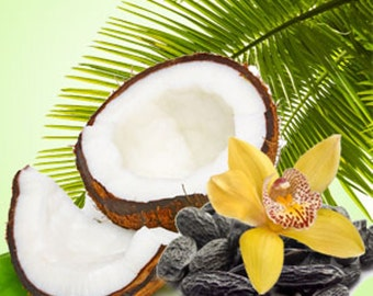 TROPICAL COCONUT - 2, or 4 oz bottle of Floral Fruity Gourmand Fragrance Spray / Accords of; Fresh Fruity, Coconut, Sweet, Tropical, Vanilla