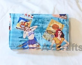 NEW Retro Pin Up Girl Jewelry Wallet
