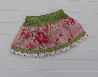 RTS, Ava Rose Twirl Skirt, ON SALE, available in size 2T, Last 2 available