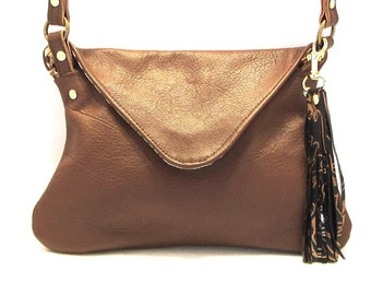 Brown Crossbody Purse / Leather Crossbody / Crossbody Bag / Brown Leather Purse / Brown Cross Body Bag / Cross Body Purse